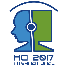 Logo: Human-Computer Interaction International, 2017